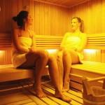 Sauna couple
