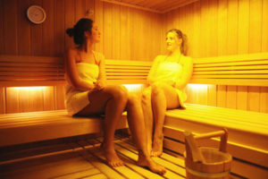 Sauna couple